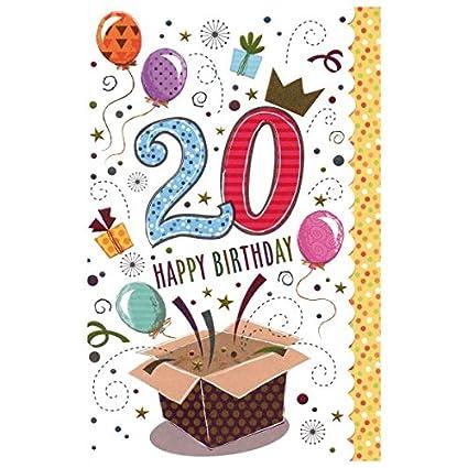 Susy Card Tarjeta de cumpleaños, cumpleaños, tamaño: 17 x 11 ...
