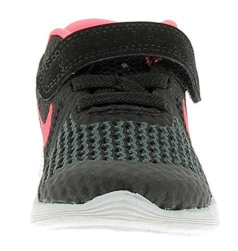 Nike Revolution 4 (TDV) Zapatos Para Niña Negro