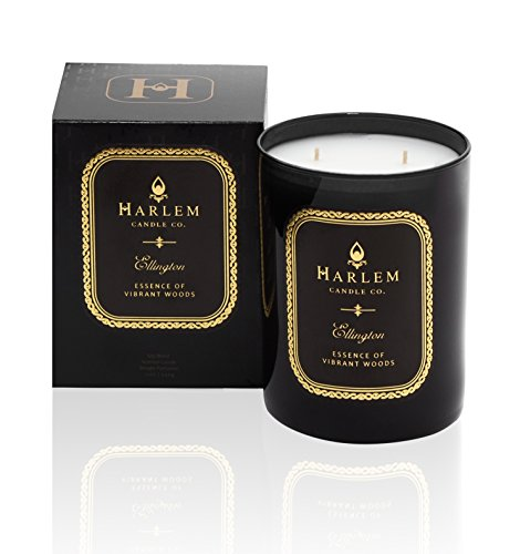 (Harlem Candle Company Ellington Luxury Candle, Double Wick, 12 oz Jar Candle)