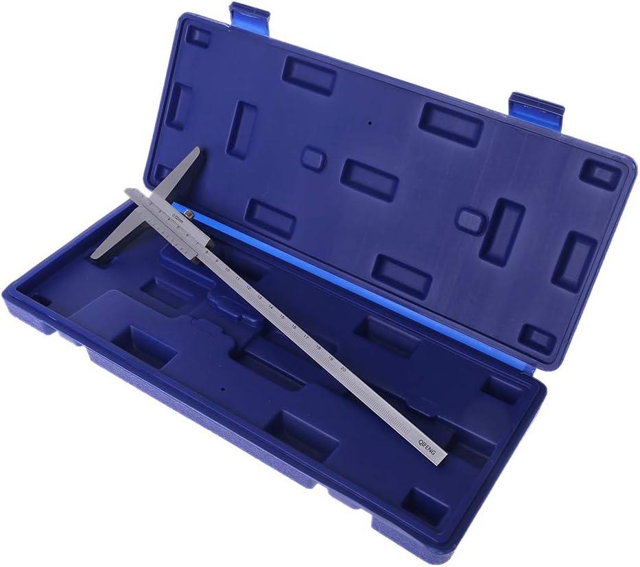 ZHIZU 0-150mm 200mm 300mm Depth Vernier Caliper 0.02mm Accuracy Depth Gauge Depth Measuring Tool