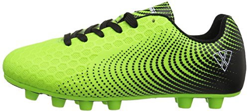 Vizari Unisex Stealth FG Green/Black Size 2 Soccer Shoe M US Little Kid by Vizari (Image #5)