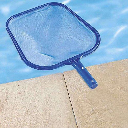 Epuisette de surface bleue pour piscine for Accessoire piscine dijon