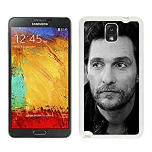 Samsung Note 3 Case,Papers Co He Matthew Mcconaughey Actor Man Film White For Samsung Note 3 Case