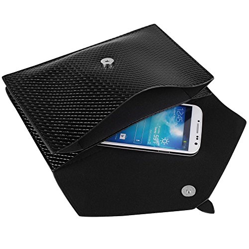 - Black Elegant Diamond Women Clutch Bag for Apple iPhone 6/6 Plus