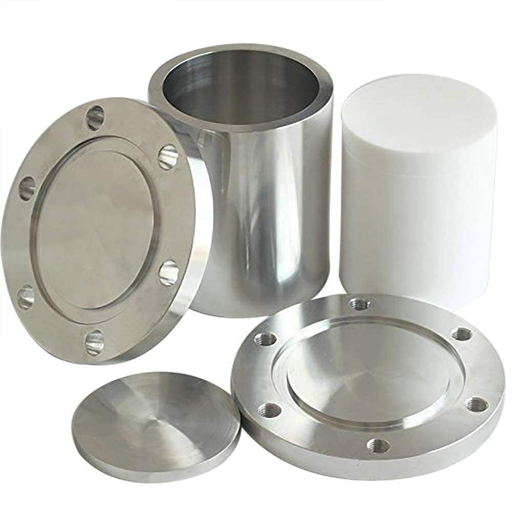 BAOSHISHAN 1000ml Hydrothermal Synthesis Autoclave Reactor 3Mpa 220C 304 Stainless Steel with PTFE Lining (1000ml) by BAOSHISHAN (Image #2)