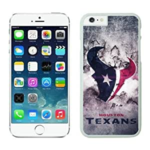 NFL iPhone 6 Plus 5.5 Inches Case Houston Texans White iPhone 6 Plus Cell Phone Case ONXTWKHB1848