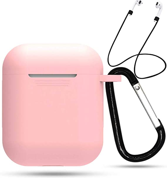 AirPods Case Cover Compatible with Apple Airpods Case Airpods 1/&2 Charging Case Cover Silicone AirPod Case Cover