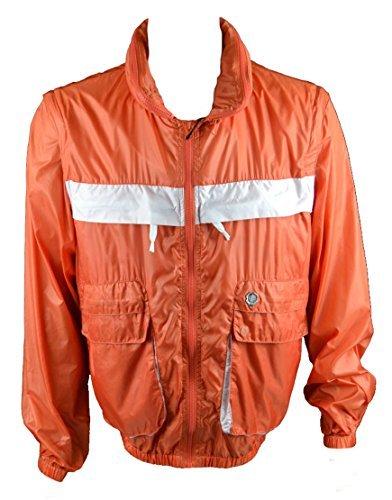 0e1e7b7452 Just Cavalli Uomo Casual Giacca con cappuccio/gilet arancione ...