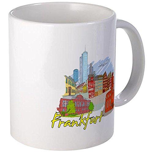 CafePress - Frankfurt - Germany Mugs - Unique Coffee Mug, Coffee ()