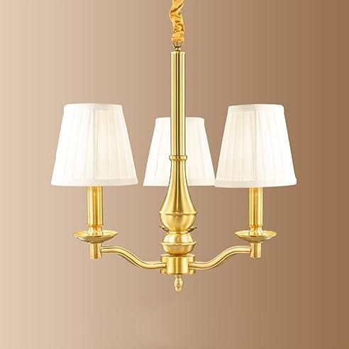 MMM  Europäischen Stil Kronleuchter, Kupfer Lampe Körper Tuch Lampenschirm  E14 Kronleuchter (42 *