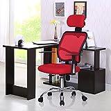 Ergonomic Mesh High Back Executive Swivel Computer Desk Task Office Chair Red US Stock