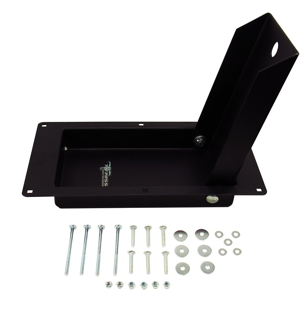 Pit Posse PP2911 New Recessed Motorcycle Trailer (SMALL-16 Inch)