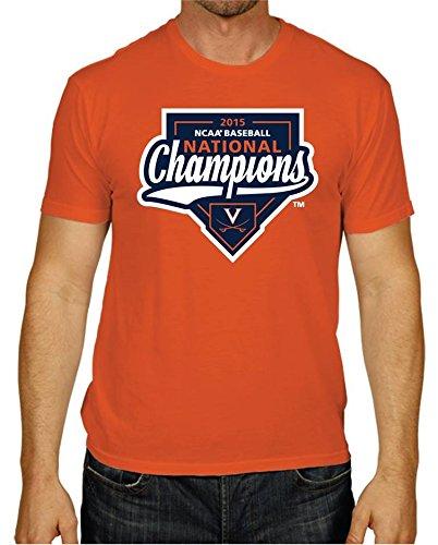 World Series Tee College - Virginia Cavaliers 2015 College World Series CWS Baseball Champs T-Shirt (M)