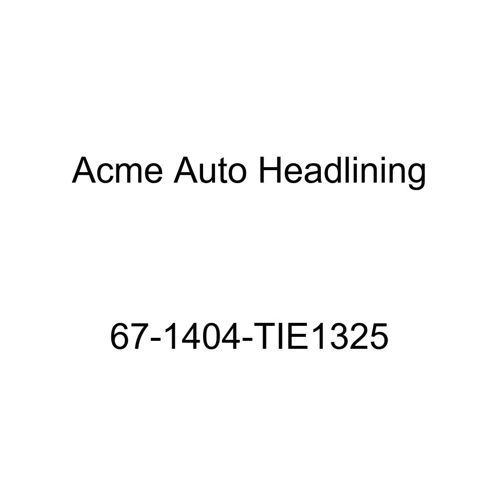 Acme Auto Headlining 67-1404-TIE1325 Green Replacement Headliner Chevrolet Bel Air /& Biscayne 2 /& 4 Door Sedan 5 Bow