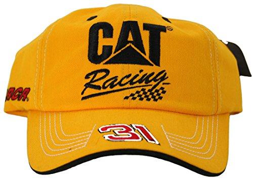 (NASCAR Ryan Newman #31 CAT Racing Qualifier Series Adult Adjustable Hat Cap)
