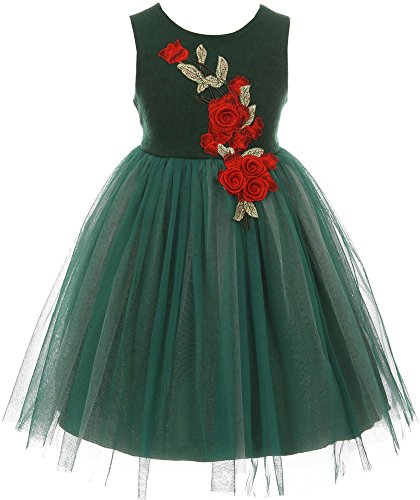 green holiday party dress - 8