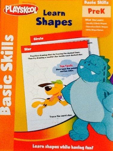 - Playskool Basic Skills PreK Workbook - Learn Shapes