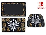 Monster Hunter 4 Ultimate Generations 3 World Video Game Vinyl Decal Skin Sticker Cover for Nintendo Switch Console System