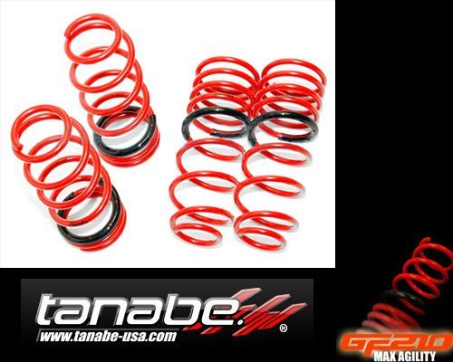 (Tanabe TGF063 GF210 Lowering Spring with Lowering Height 1.0/1.2 for 2003-2007 Nissan 350Z Z33)