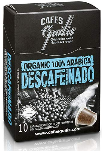 CAFES GUILIS DESDE 1928 AMANTES DEL CAFÉ - Cápsulas de Café Espresso Descafeinado Compatibles con Máquinas Nespresso 100 unidades: Amazon.es: Alimentación y ...