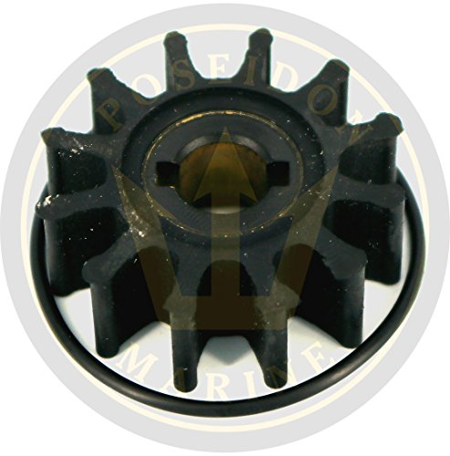 CEF Impeller for Volvo Penta MB2/50S RO: 3555413 3555413-8 3551603 by CEF (Image #1)