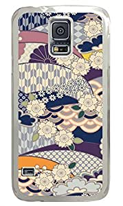 Variation Design 4 Clear Hard Case Cover Skin For Samsung Galaxy S5 I9600