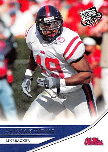 17ef667485e Image Unavailable. Image not available for. Color: Patrick Willis football  card (Ole Miss Rebels) 2007 ...