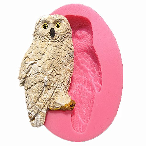 Cute Owl Silicone Fondant Cake Mold Chocolate Polymer Clay Mould Buckdirect Worldwide Ltd.