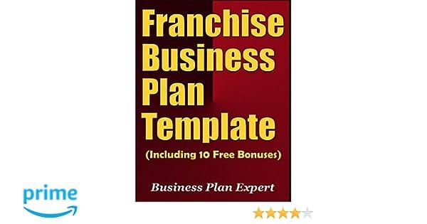 Franchise Business Plan Template Including 10 Free Bonuses