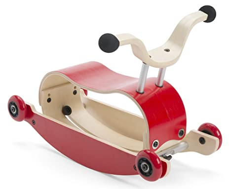 Wishbone Design Studio - Mini Flip - Top - rojo - madera ...