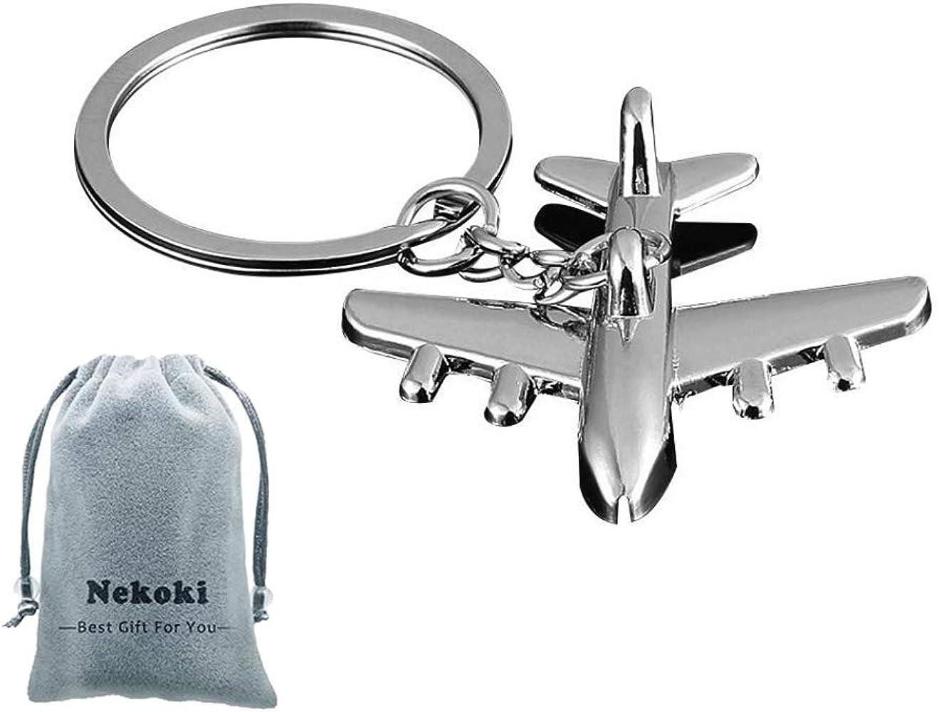 Fashion Alloy Metal Keyfob Gift Car Keyring Keychain Key Chain Ring Xmas Gift