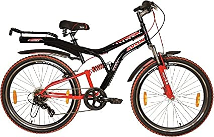 6fbf64a4ce8 Buy Avon NEOWAVE Steel 6 Speed Cycle (26-inch, Black and Red) Online ...