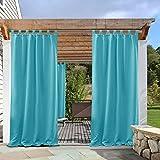tab top draperies - PONY DANCE Outdoor Decor Curtain 108
