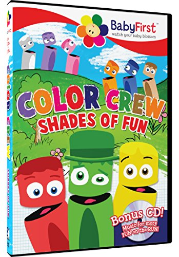 Amazon Com Baby First Tv Color Crew Interactive Talking