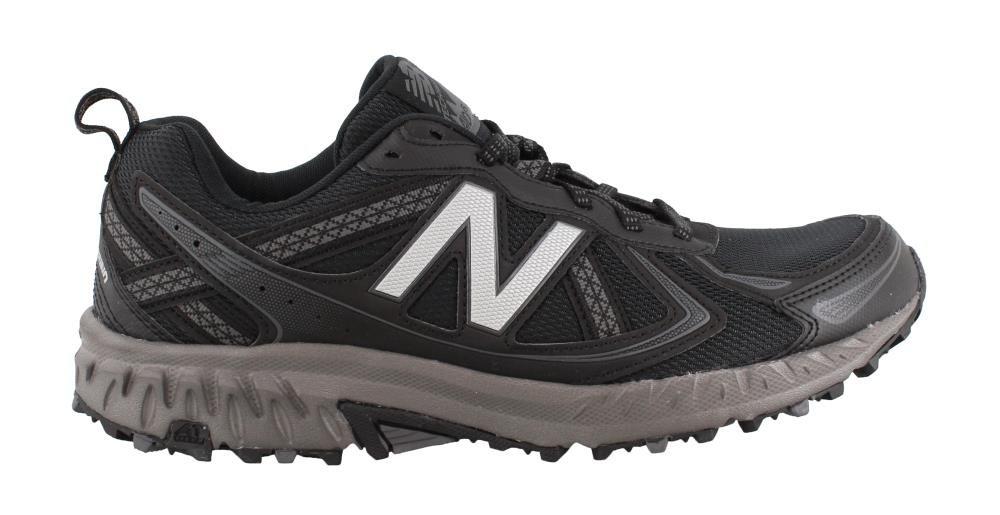 New Balance Men's Mt410v5 Cushioning Trail Runner B071WKFK9R 14 D(M) US|Black/Black