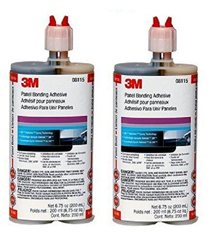3M 08115 Panel Bonding Adhesive - 200 ml - 2 Pack by 3M