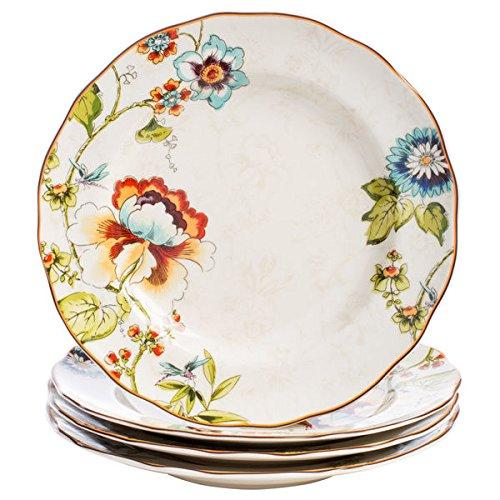 222 Fifth Bella Vista Floral Dinnerware Set, 16-pieces