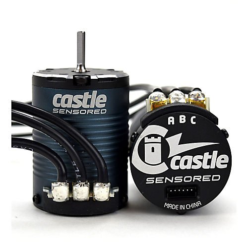 Castle Creations 060-0070-00 4-Pole Sensored Bl Crawler Motor 1406-2850kv