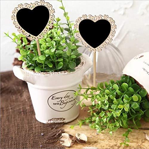 Amazon.com: MOZAAR Mini pizarras para bodas, fiestas ...