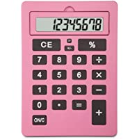 Lila 11 Inch Giant Pink Calculator