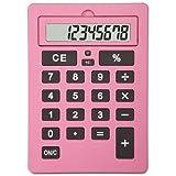 Lila 11 Inch Giant Pink Calculator