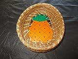Pine Needle Pineapple BASKET