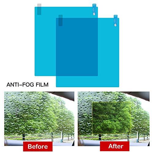 L-DiscountStore Auto-R/ückspiegel Seitenscheibe wasserdichte Folie Anti-Fog-Anti-Glare-Regenschutzfolie f/ür alle Auto und Fahrzeugmodelle