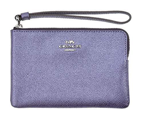 Purple Coach Handbag - 4