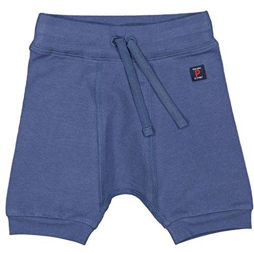 Polarn O. Pyret Summer Eco Shorty Pants (Newborn) - 2-4 Months/Ensign Blue