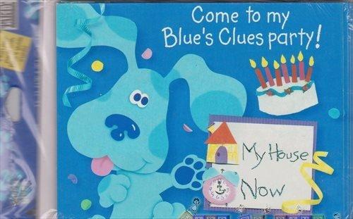 Blue's Clues Vintage Come to My Blue's Clues Party Invitations - Clues Blues Invitations