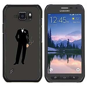 EJOOY---Cubierta de la caja de protección para la piel dura ** Samsung Galaxy S6Active Active G890A ** --Anonymous Traje