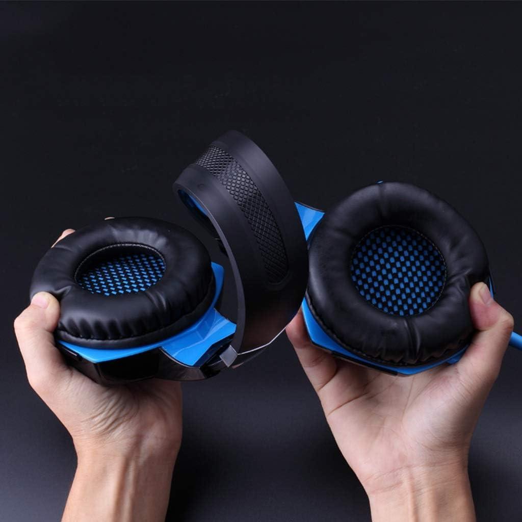 Summerone Computer Gaming Headset Headset Gaming Headset with Microphone with Microphone 7.1-Channel Vibration Adjustable
