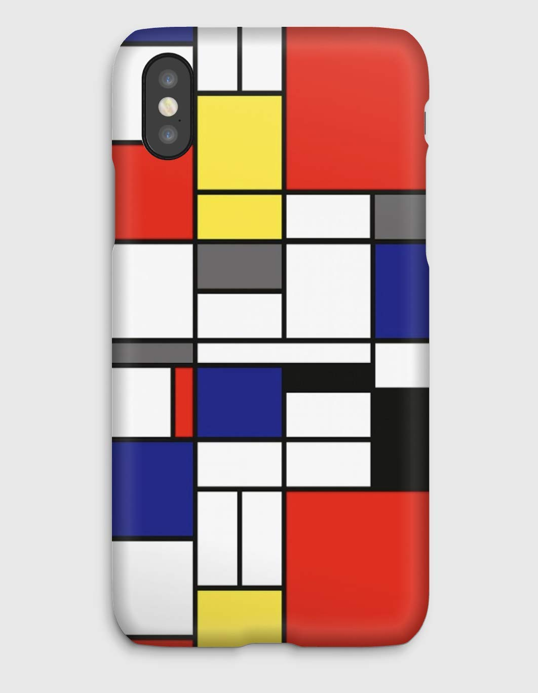 Mondrian, Cover iPhone X,XS,XS Max,XR, 8, 8+, 7, 7+, 6S, 6, 6S+, 6+, 5C, 5, 5S, 5SE, 4S, 4,