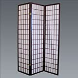 Brand New 18''x 71''H Cherry Finish 3-Panel Wood Room Divider / Screen